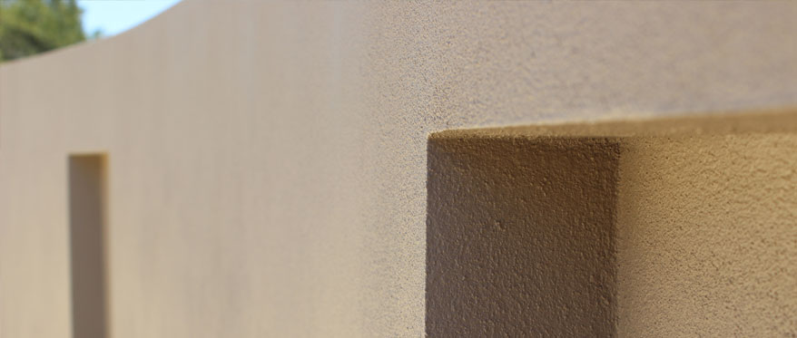 Sand Finish Render Example